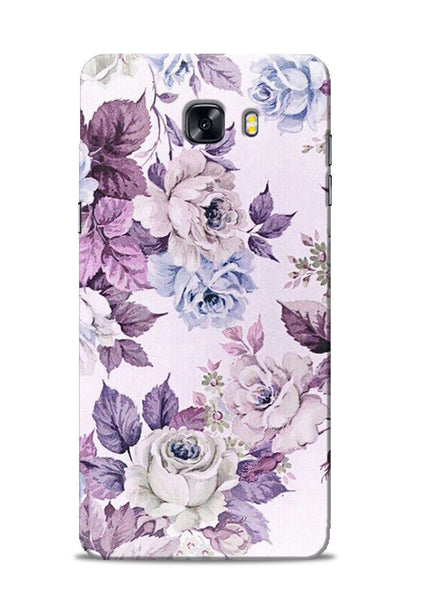 Flowers Forever Samsung Galaxy C9 Pro Mobile Back Cover