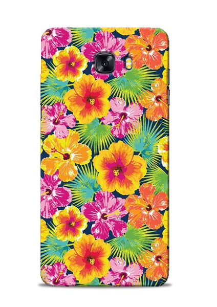 Garden Of Flowers Samsung Galaxy C9 Pro Mobile Back Cover