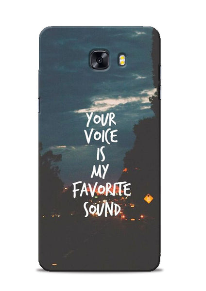 Your Voice Samsung Galaxy C9 Pro Mobile Back Cover