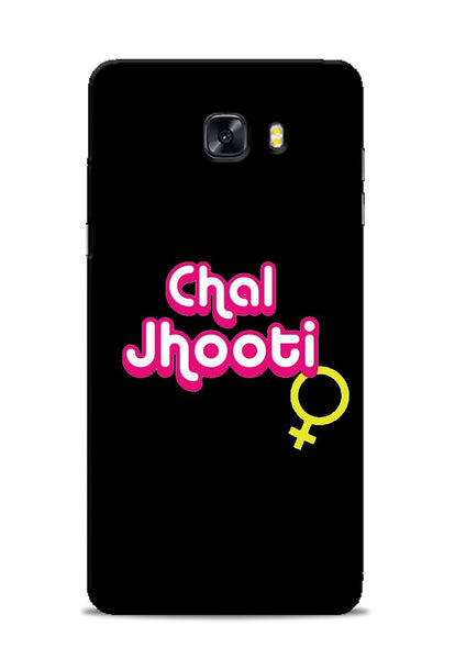 Chal Jhooti Samsung Galaxy C9 Pro Mobile Back Cover