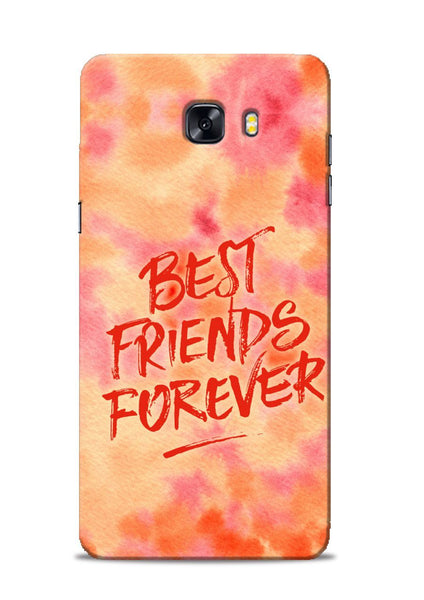 Best Friends Forever Samsung Galaxy C9 Pro Mobile Back Cover