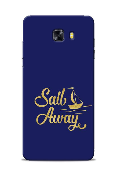 Sail Always Samsung Galaxy C9 Pro Mobile Back Cover