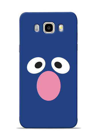 Confused Eyes Samsung Galaxy J5 2016 Mobile Back Cover