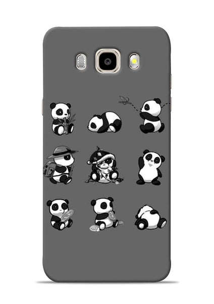 Nine Panda Moods Samsung Galaxy J5 2016 Mobile Back Cover