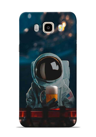 Astronaut Beer Samsung Galaxy J5 2016 Mobile Back Cover
