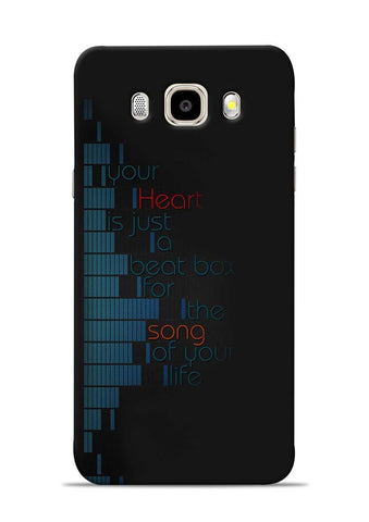 Heart Song Samsung Galaxy J5 2016 Mobile Back Cover