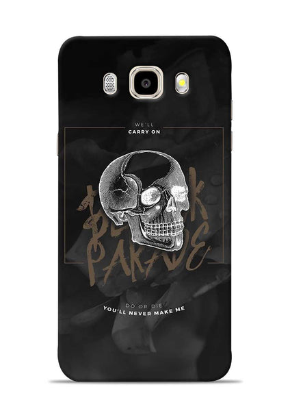Biker Skull Samsung Galaxy J5 2016 Mobile Back Cover