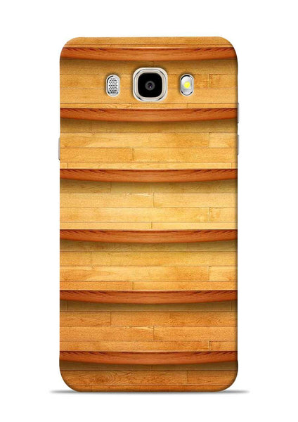 Wooden Texture Samsung Galaxy J5 2016 Mobile Back Cover