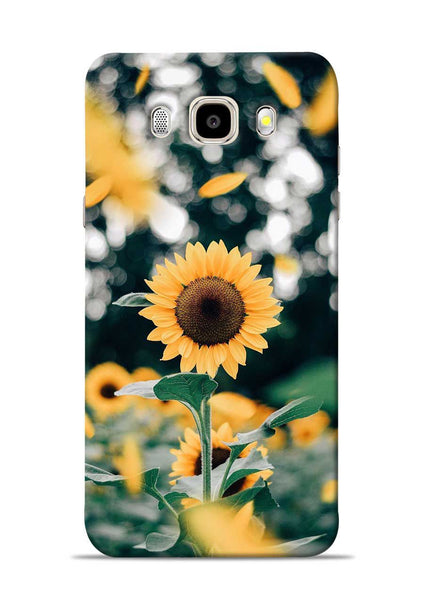 Sun Flower Samsung Galaxy J5 2016 Mobile Back Cover