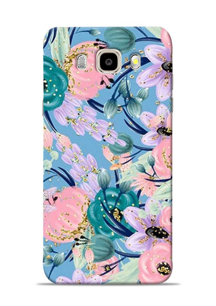 Lovely Flower Samsung Galaxy J5 2016 Mobile Back Cover
