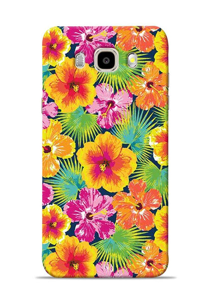 Garden Of Flowers Samsung Galaxy J5 2016 Mobile Back Cover