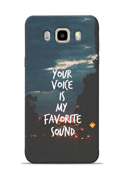 Your Voice Samsung Galaxy J5 2016 Mobile Back Cover