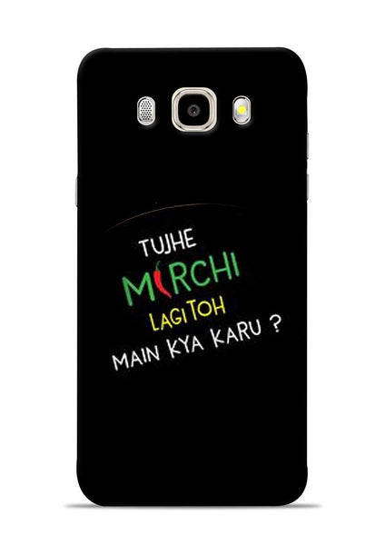 Mirchi Lagi To Samsung Galaxy J5 2016 Mobile Back Cover