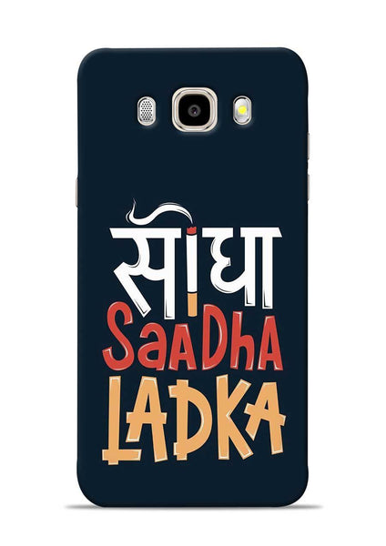 Saadha Ladka Samsung Galaxy J5 2016 Mobile Back Cover