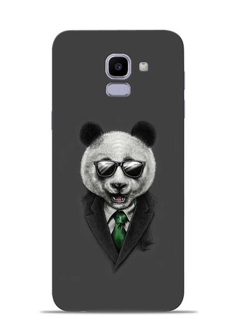 Cool Panda Samsung Galaxy J6 Mobile Back Cover