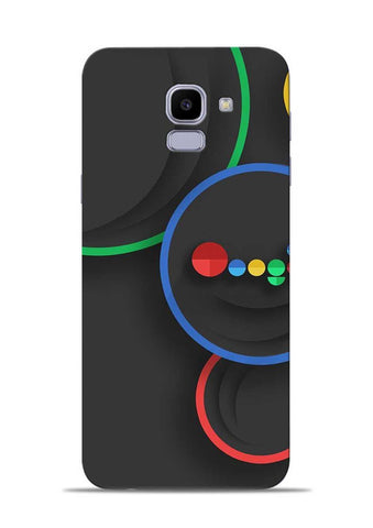 The Hoogle Samsung Galaxy J6 Mobile Back Cover