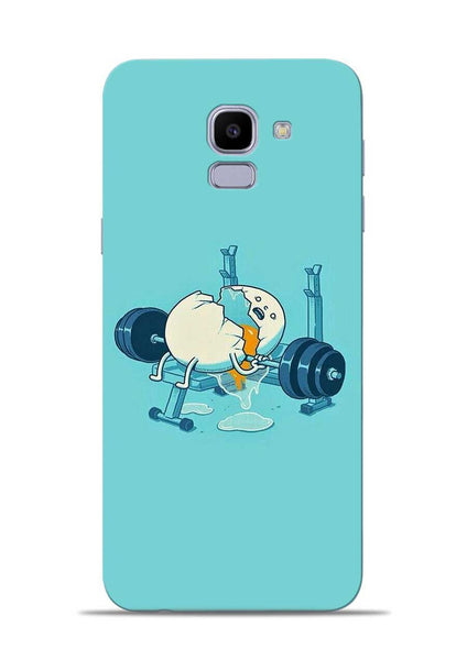 Gym And Diet Samsung Galaxy J6 Mobile Back Cover