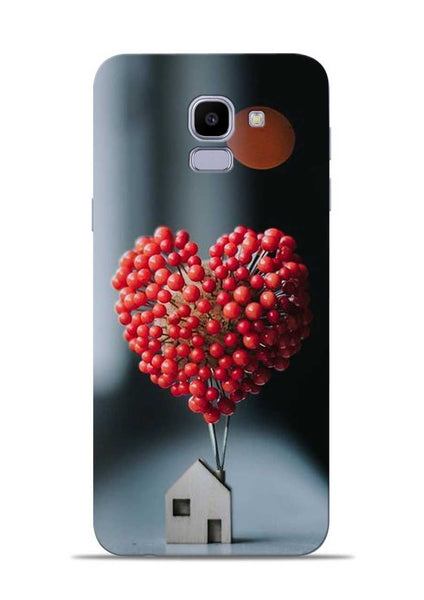 The lovely Berries Samsung Galaxy J6 Mobile Back Cover