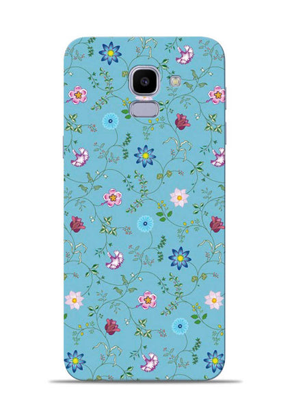 Fallen Flower Samsung Galaxy J6 Mobile Back Cover