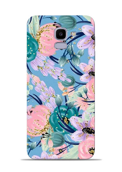 Lovely Flower Samsung Galaxy J6 Mobile Back Cover