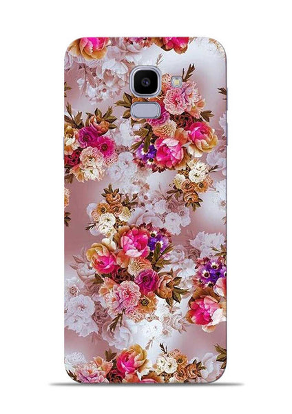 Rose For Love Samsung Galaxy J6 Mobile Back Cover