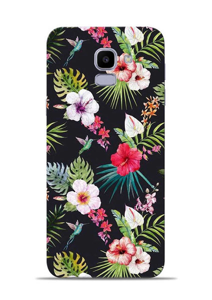 Flowers For You Samsung Galaxy J6 Mobile Back Cover