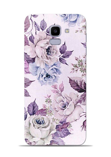 Flowers Forever Samsung Galaxy J6 Mobile Back Cover