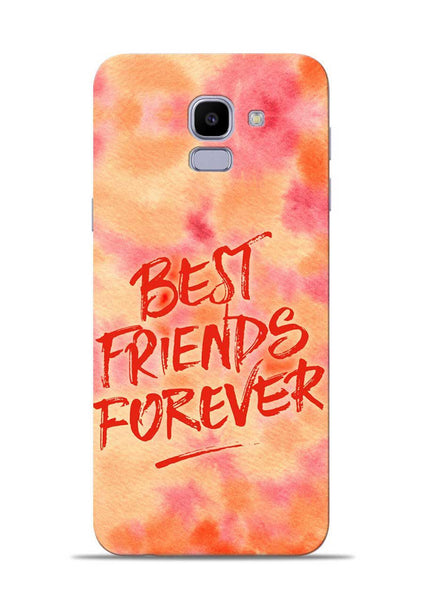 Best Friends Forever Samsung Galaxy J6 Mobile Back Cover