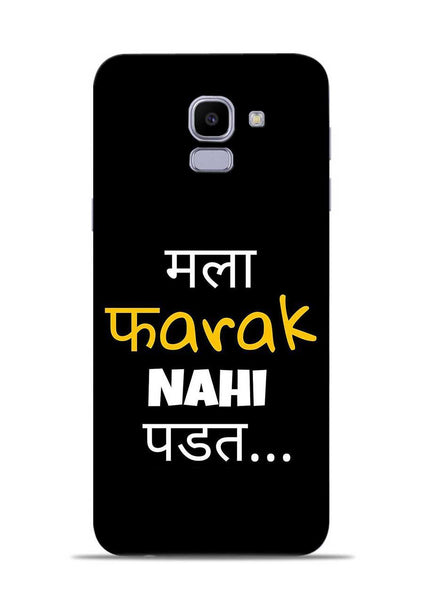 Farak Nahi Padta Samsung Galaxy J6 Mobile Back Cover