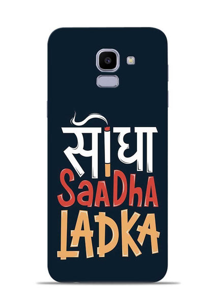 Saadha Ladka Samsung Galaxy J6 Mobile Back Cover