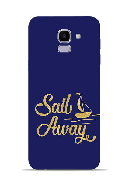 Sail Always Samsung Galaxy J6 Mobile Back Cover