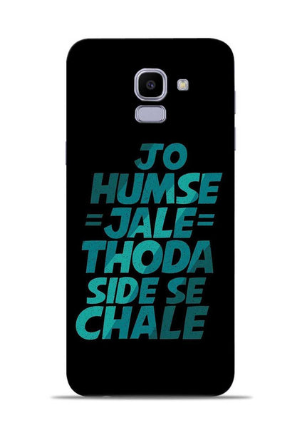 Jo Humse Jale Samsung Galaxy J6 Mobile Back Cover