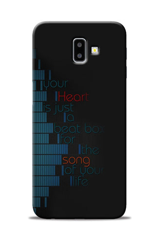 Heart Song Samsung Galaxy J6 Plus Mobile Back Cover