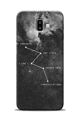 My Thoughts Samsung Galaxy J6 Plus Mobile Back Cover