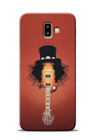 Love Guitar Samsung Galaxy J6 Plus Mobile Back Cover