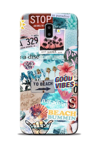 Beach Lover Samsung Galaxy J6 Plus Mobile Back Cover