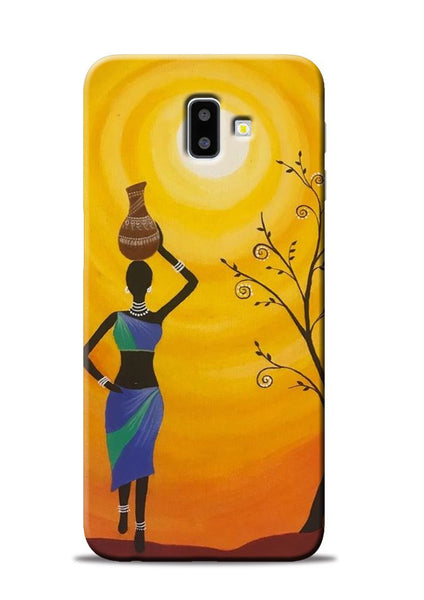 Fetching Water Samsung Galaxy J6 Plus Mobile Back Cover