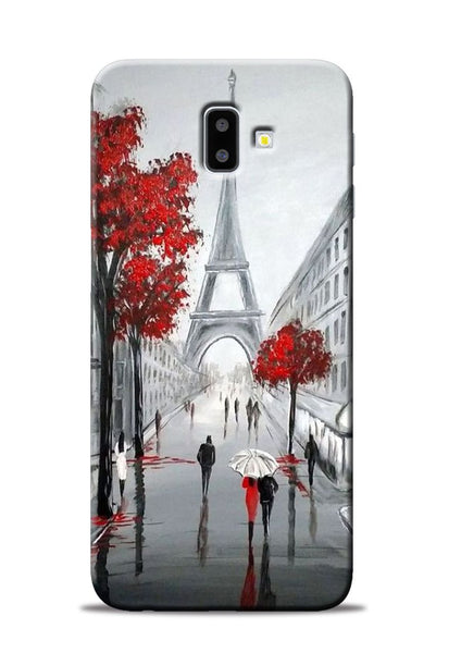 Eiffel Tower Samsung Galaxy J6 Plus Mobile Back Cover