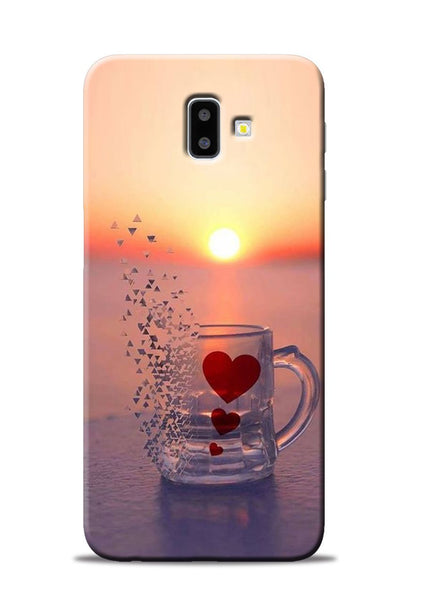 The Hearts Samsung Galaxy J6 Plus Mobile Back Cover
