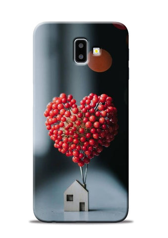 The lovely Berries Samsung Galaxy J6 Plus Mobile Back Cover