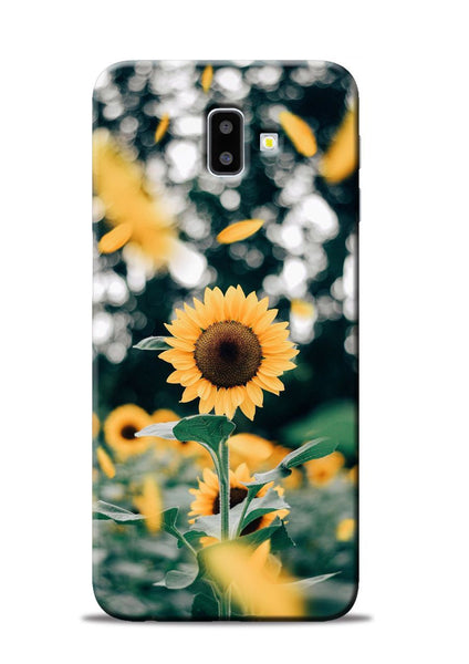Sun Flower Samsung Galaxy J6 Plus Mobile Back Cover