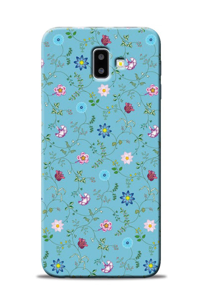 Fallen Flower Samsung Galaxy J6 Plus Mobile Back Cover