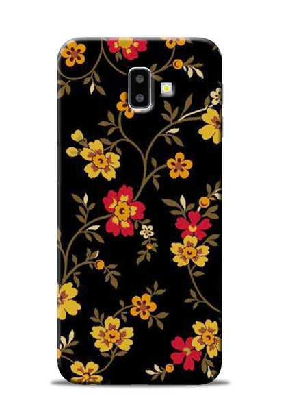 Rising Flower Samsung Galaxy J6 Plus Mobile Back Cover
