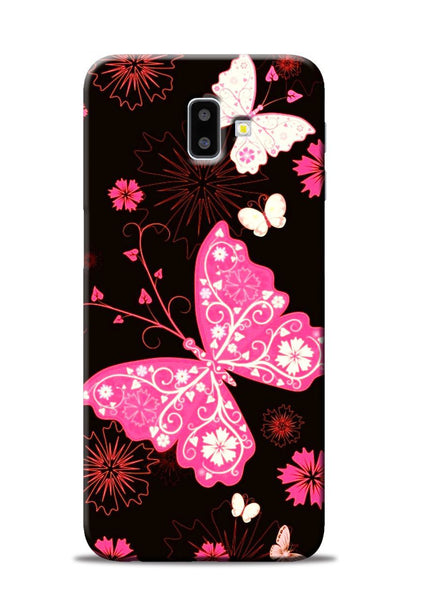The Butterfly Samsung Galaxy J6 Plus Mobile Back Cover