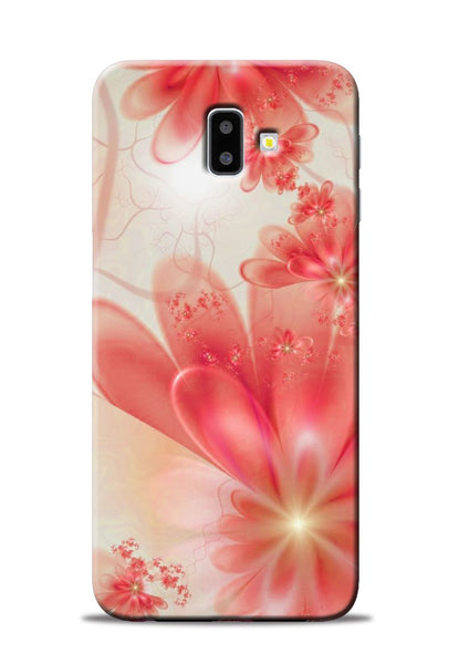 Glowing Flower Samsung Galaxy J6 Plus Mobile Back Cover