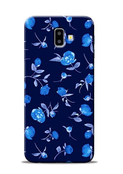 The Blue Flower Samsung Galaxy J6 Plus Mobile Back Cover