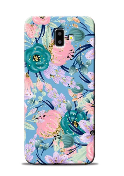 Lovely Flower Samsung Galaxy J6 Plus Mobile Back Cover