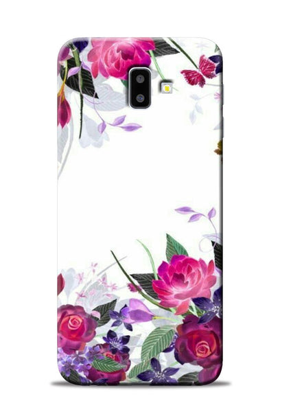 The Great White Flower Samsung Galaxy J6 Plus Mobile Back Cover
