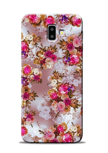 Rose For Love Samsung Galaxy J6 Plus Mobile Back Cover