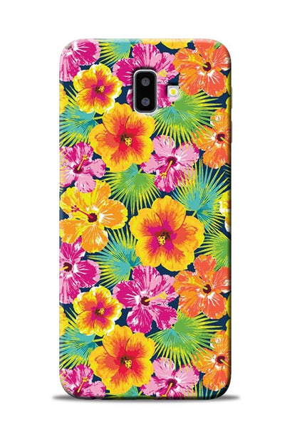 Garden Of Flowers Samsung Galaxy J6 Plus Mobile Back Cover